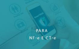 Para NF-e E CT-e